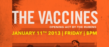 The Vaccines Live in Kuala Lumpur