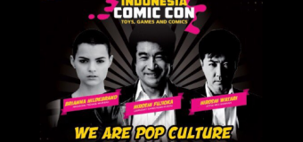 Pop Culture Legendary Stars and Exhibitors Rocks  Indonesia Comic Con 2016!